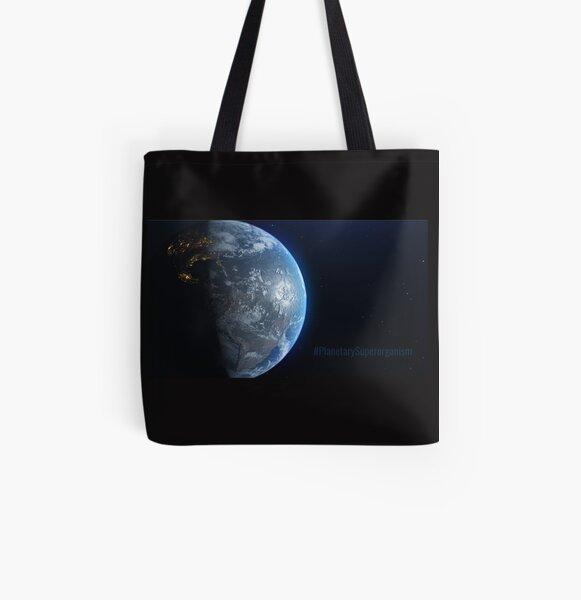 #PlanetarySuperorganism All Over Print Tote Bag