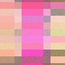 Pink Plaid Phone by Betty Mackey