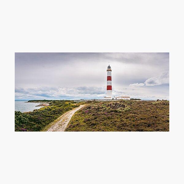 Tarbat Ness Lighthouse, Scotland Photographic Print