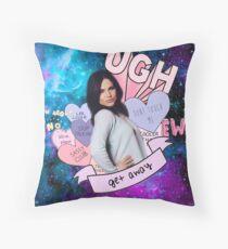 Lana Parrilla - Sass Master Throw Pillow