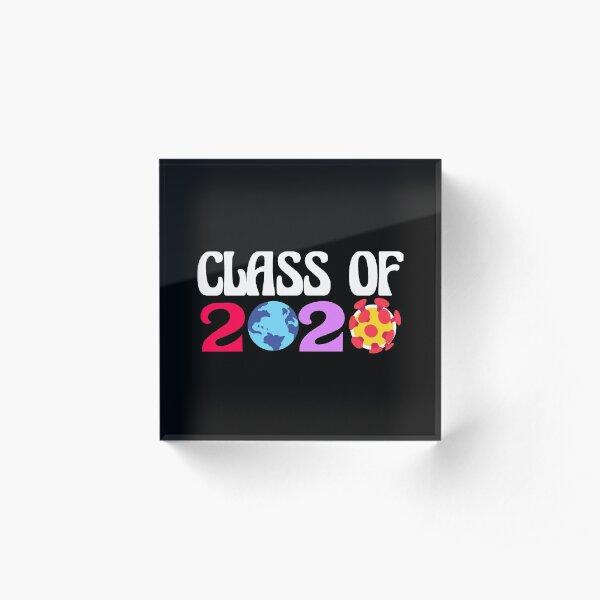 Class of 2020 Acrylic Block