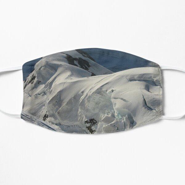 Seracs sur la route normale Jungfrau Masque sans plis