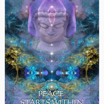 PEACE STARTS WITHIN by redwolf