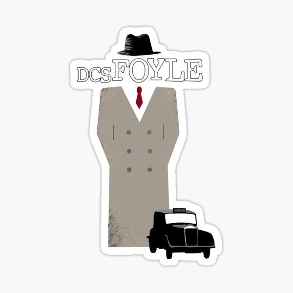 DCS Foyle (Foyle's War) Sticker