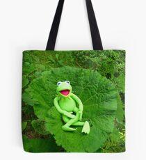 Butterbur Journal Large Nature Frog Kermit Tote Bag
