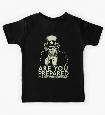 Zombie Apocalypse Kids Clothes