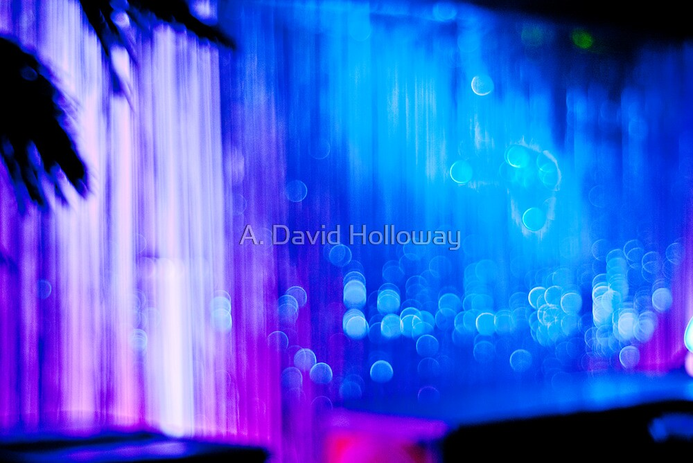 Abstract #12 - Curtain of Light by Aaron Holloway