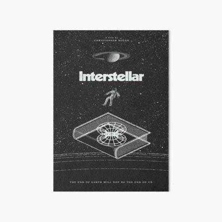 Cartel de la película interestelar Lámina rígida