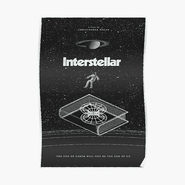 Poster of the movie interstellar  Poster