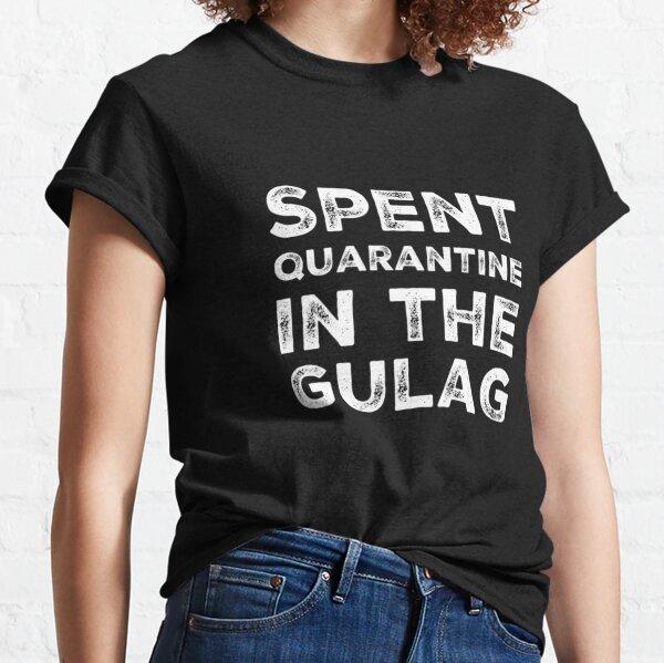 Cuarentena gastada en Gulag - Warzone Camiseta clásica