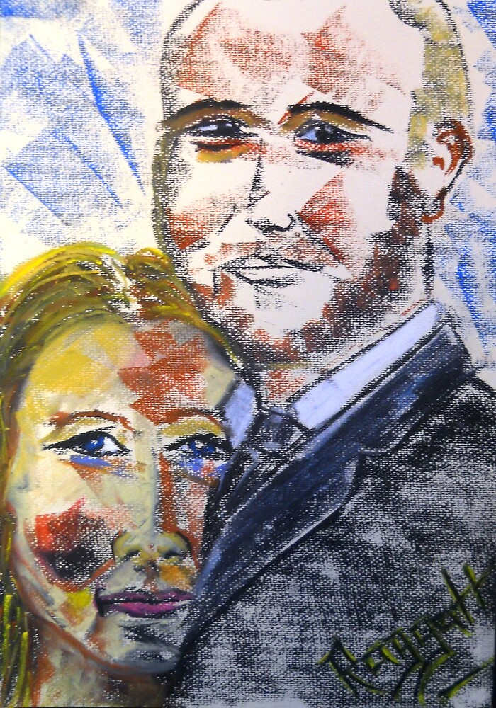 The newly Weds by Christopher  Raggatt