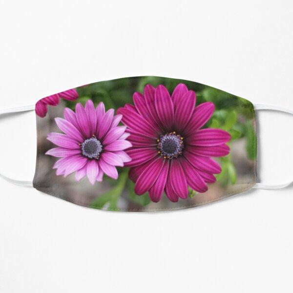 Pink Garden Flowers Mask