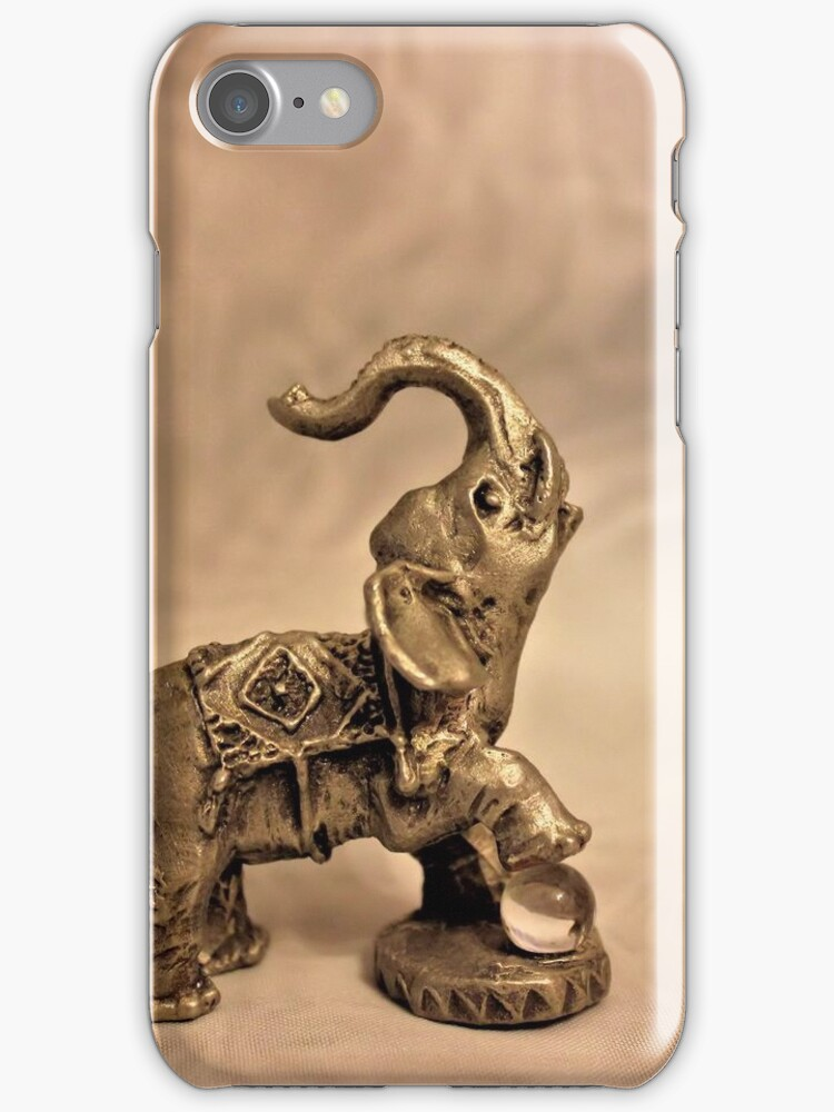 Circus Elephant [iPhone - iPod Case] by aprilann