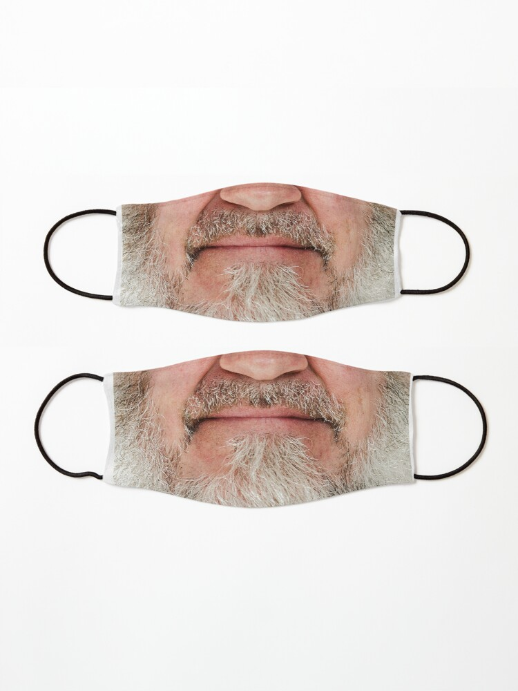 Alternate view of OLD MAN BEARD FACEMASK Mask