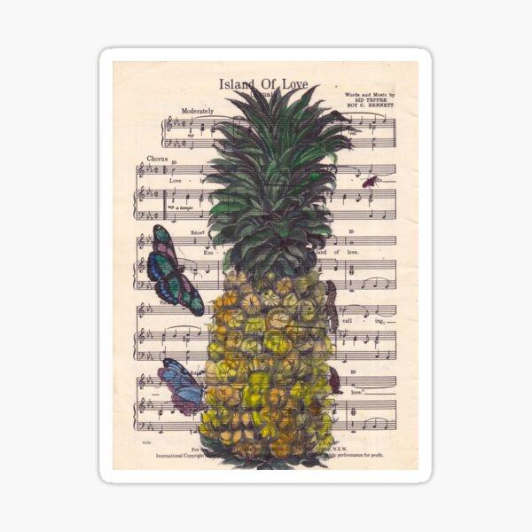 Island of Love Sticker