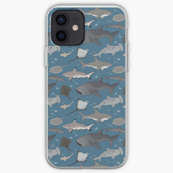 Sharks and Rays iPhone Soft Case