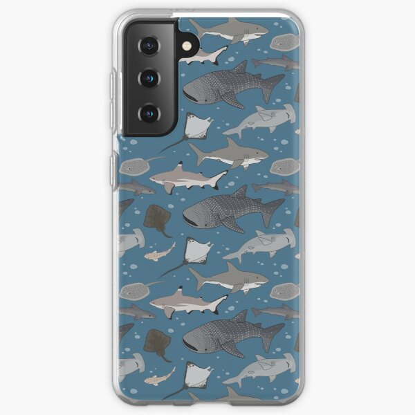 Sharks and Rays Samsung Galaxy Soft Case