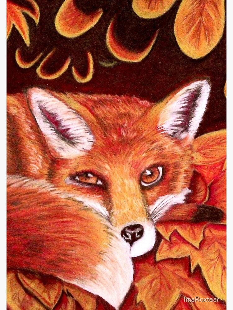 Sleepy Fox by ImaRoxtaar