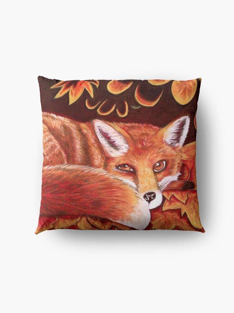 Alternate view of Sleepy Fox Floor Pillow