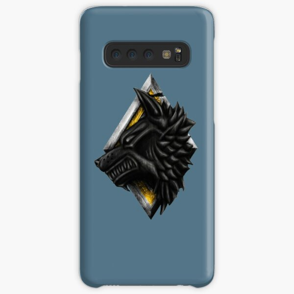 Space Viking Wolf Head Samsung Galaxy Snap Case