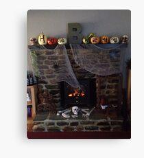 Haunted Housewarming Canvas Print