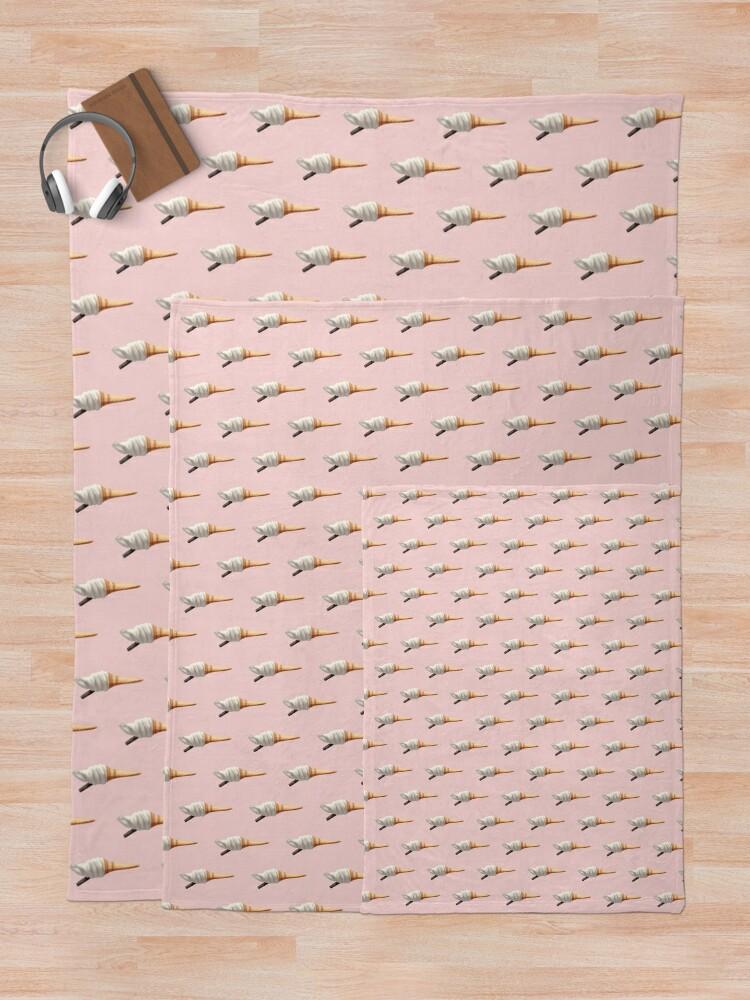 Alternate view of Ice Cream Throw Blanket