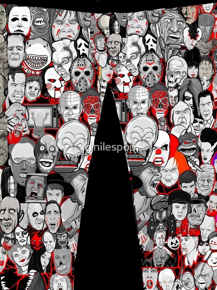 Titans of Horror by gjnilespop