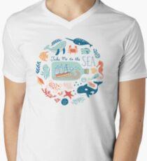 Take Me to the Sea V-Neck T-Shirt