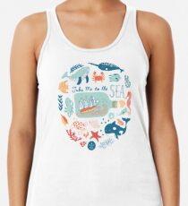 Take Me to the Sea Racerback Tank Top
