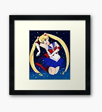 Sailor Moon Usagi In the stars  Framed Print