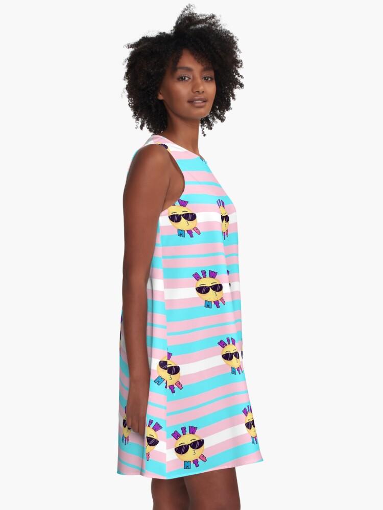 Alternate view of MFW MTF A-Line Dress