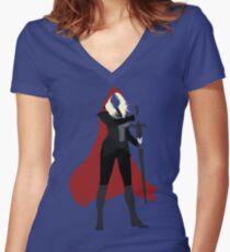 Celaena Sardothien | Queen of Shadows Women's Fitted V-Neck T-Shirt