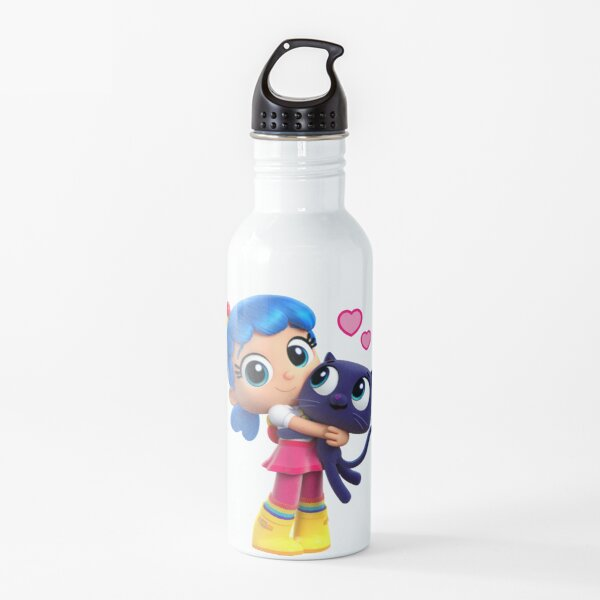 True and the rainbow kingdom Bartleby love Water Bottle