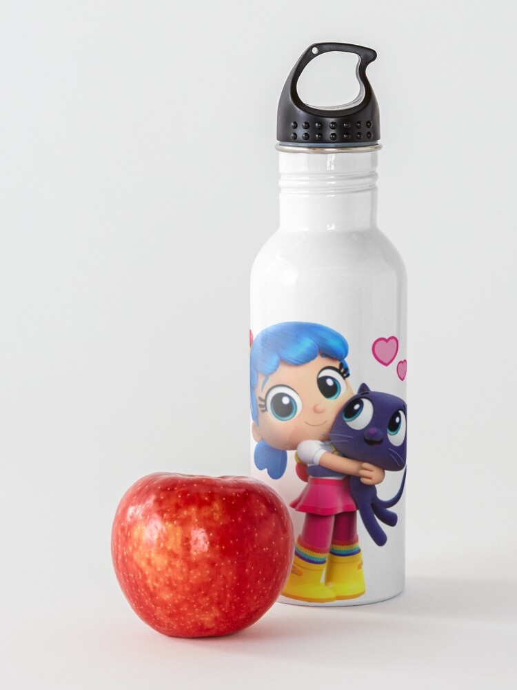 Alternate view of True and the rainbow kingdom Bartleby love Water Bottle