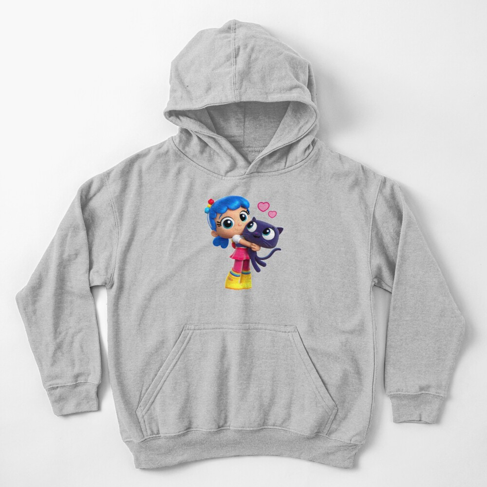True and the rainbow kingdom Bartleby love Kids Pullover Hoodie