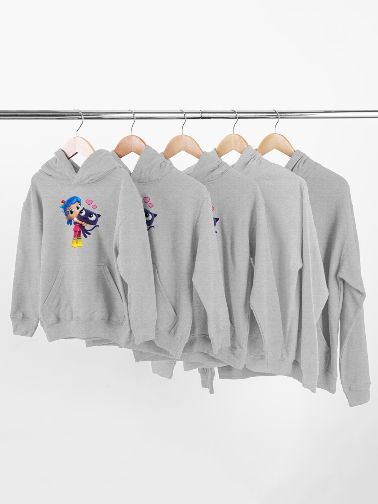 Alternate view of True and the rainbow kingdom Bartleby love Kids Pullover Hoodie