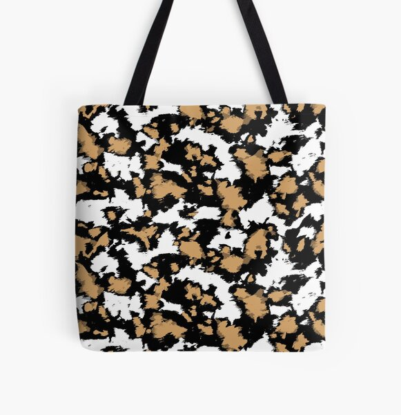 Wild dog markings All Over Print Tote Bag