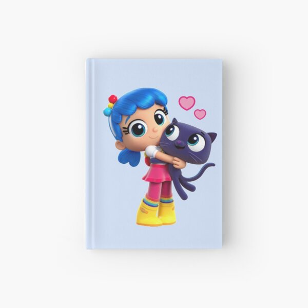 True and the rainbow kingdom Bartleby love Hardcover Journal