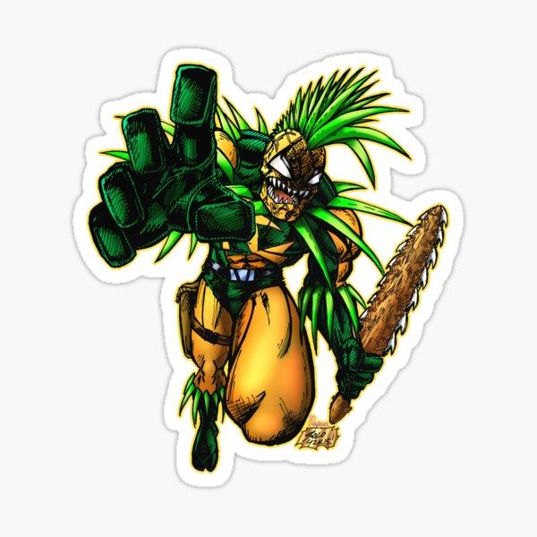 Pineapple Man  Sticker