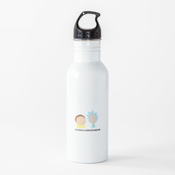 wubbalubbadubdub (rick and morty) Water Bottle
