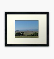 BIG PRAIRIE - BIGGER SKY Framed Print