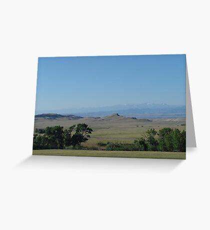 BIG PRAIRIE - BIGGER SKY Greeting Card