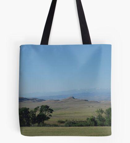 BIG PRAIRIE - BIGGER SKY Tote Bag