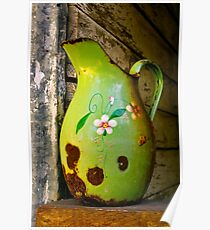 """""""Jug On A Sill"""" Poster"""