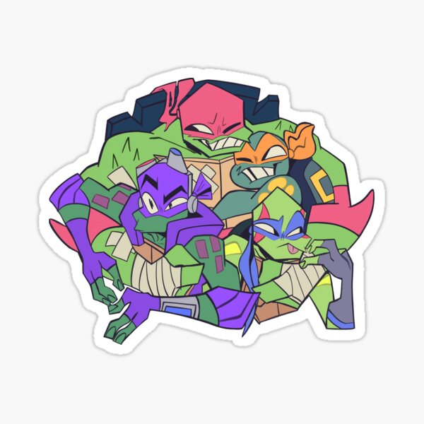 ROTTMNT HUG Sticker
