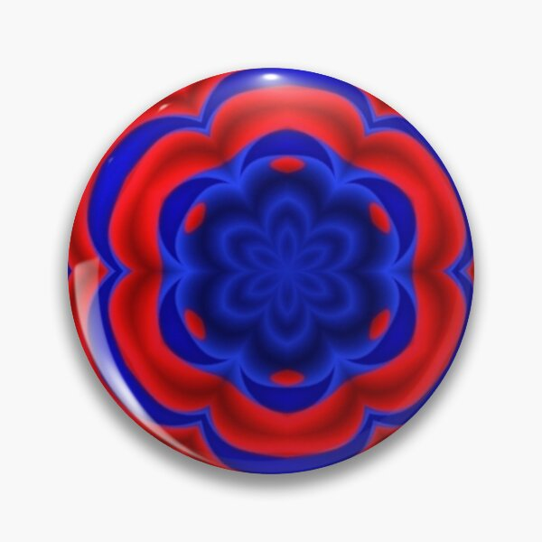 Graphic Design, kaleidoscope Pin