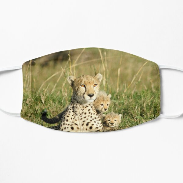 Cheetah happy family Mask
