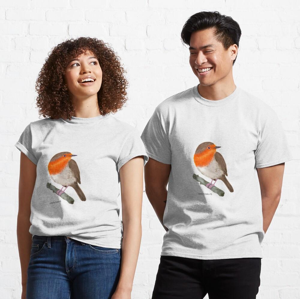 Robin Redbreast bird Classic T-Shirt
