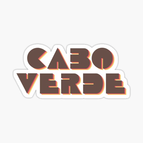 Cabo Verde! Sticker