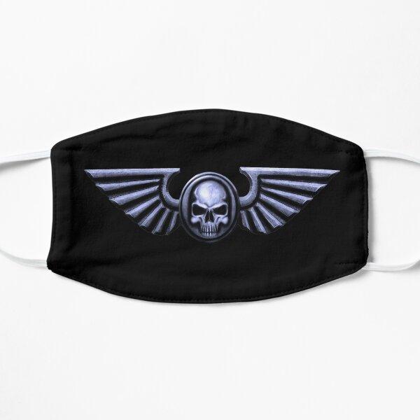 Crâne impérial et ailes d'argent Masque sans plis